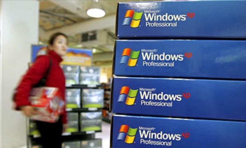 China será el país más afectado ya que tres cuartas partes de las computadoras en ese país ejecutan XP.  (Foto: Cortesía CNNMoney)