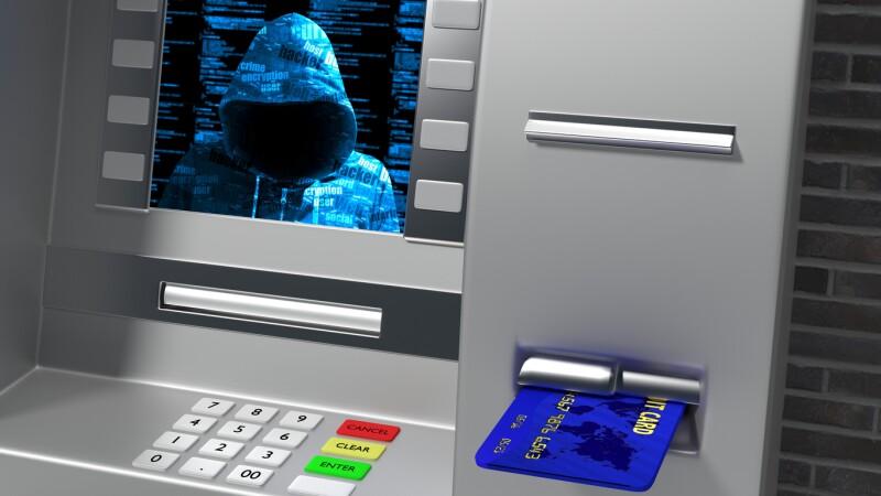 Cajero hackeado