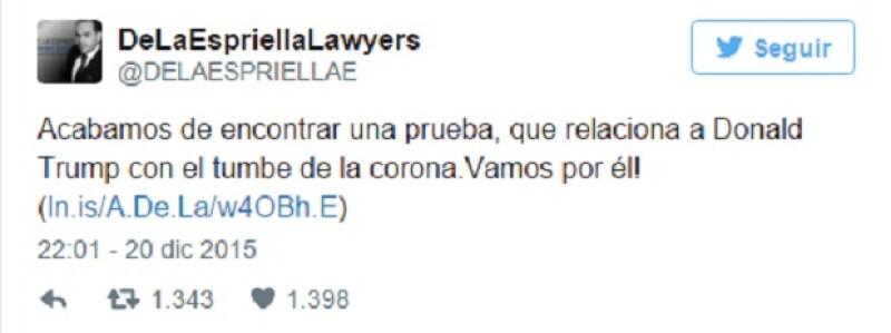 Según otra cuenta colombiana, todo esto se trata de una broma por Día de los Inocentes, ¿será?