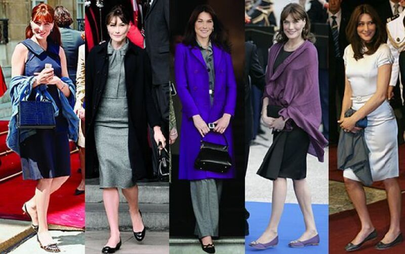 La Primera Dama francesa llama la atención con estilo y buen gusto que le son naturales.