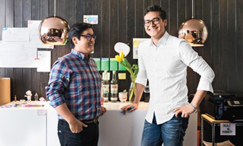La empresa de Julio Salazar (izq.) y Gabriel Martínez (der.) aumentó 75% su facturación desde 2012. (Foto: Ana Blumenkron )