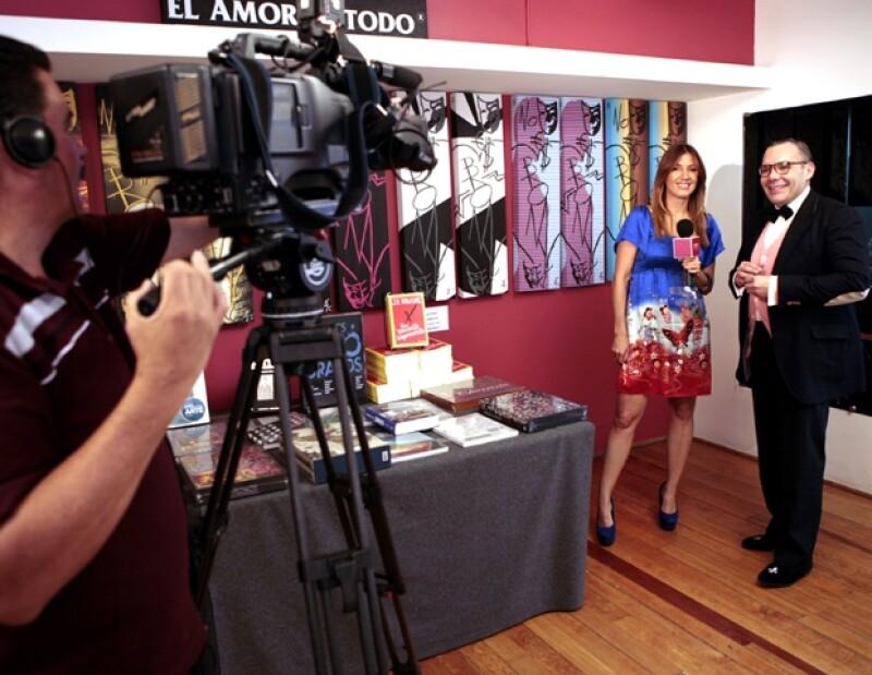 La experta en moda estrenó este mes su programa `Fashion Files´ en México Travel Channel, en el que da tips y todo lo relacionado con la `life & style´.