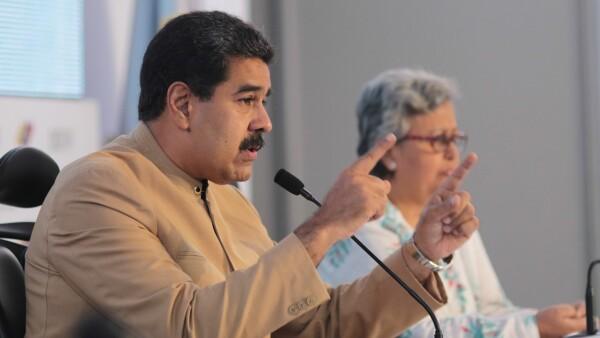 """""""Si yo fuera presidente de México"""", la respuesta de Maduro a las sanciones de EU"""