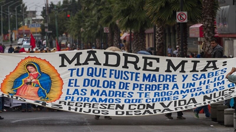 peregrinacion, ayotzinapa, basilica, virgen, guadalupe