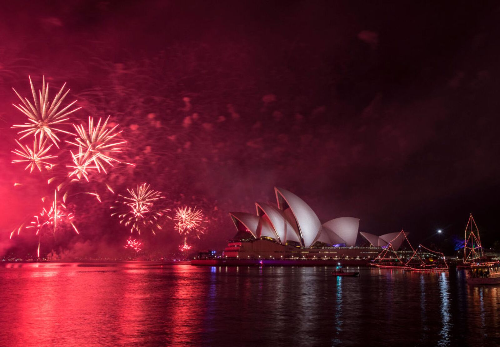 Sydney Celebrates New Year's Eve 2018