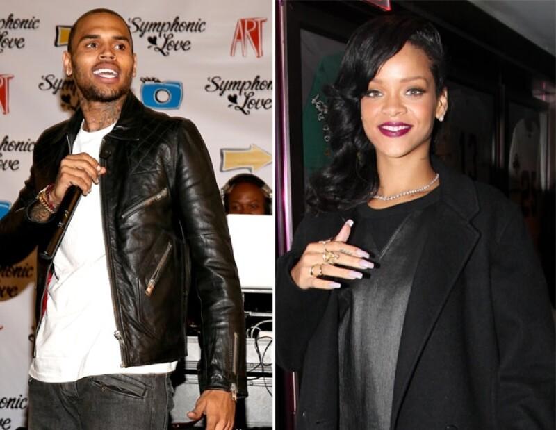 Rihanna y Chris Brown fueron captados juntos en Berlín.