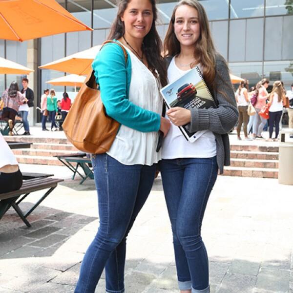 Natalia Arechiga y Lorenza Felgueras