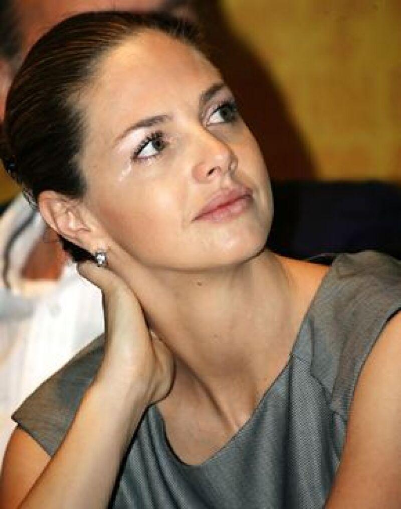 La ex esposa del Conde de Salvatierra elogió la ayuda a refugiados del conflicto interno colombiano.