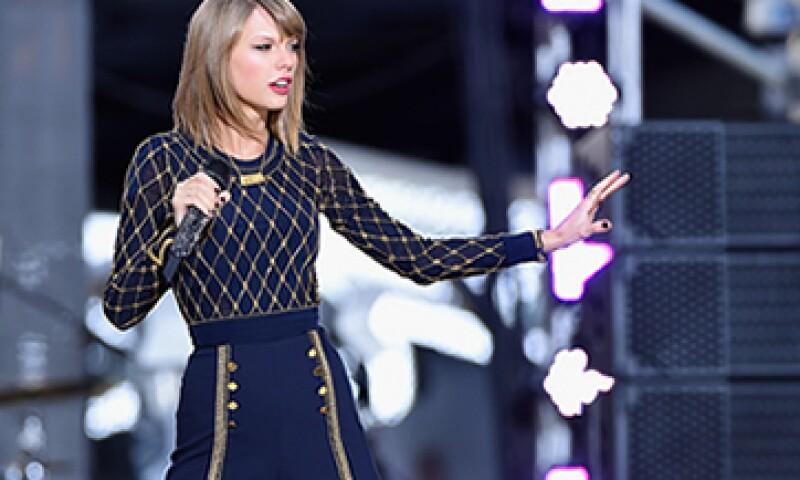 Hasta ahora, Taylor Swift posee uno de los discos más vendidos del año. (Foto: Getty Images )