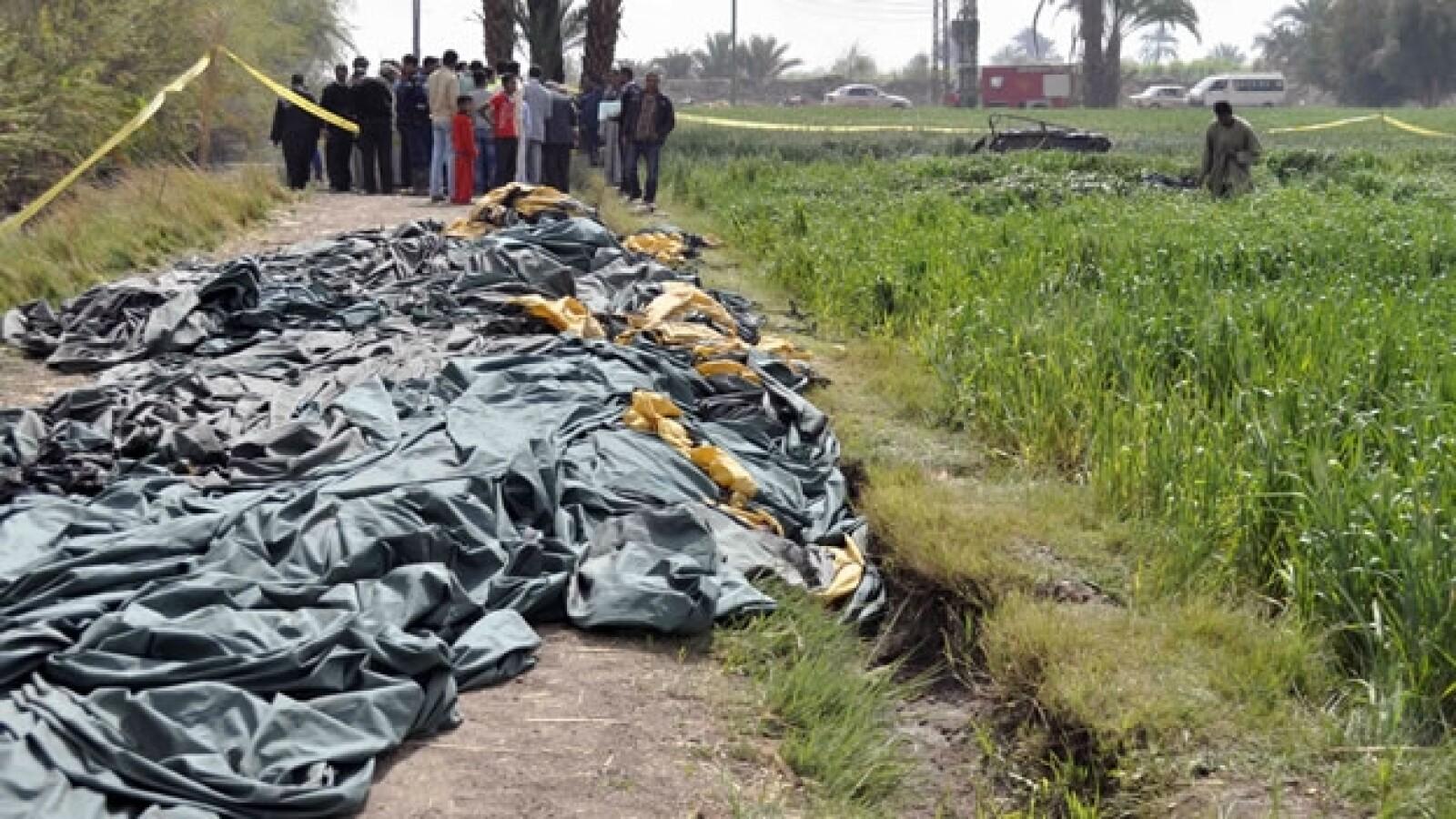 accidente de globo en egipto