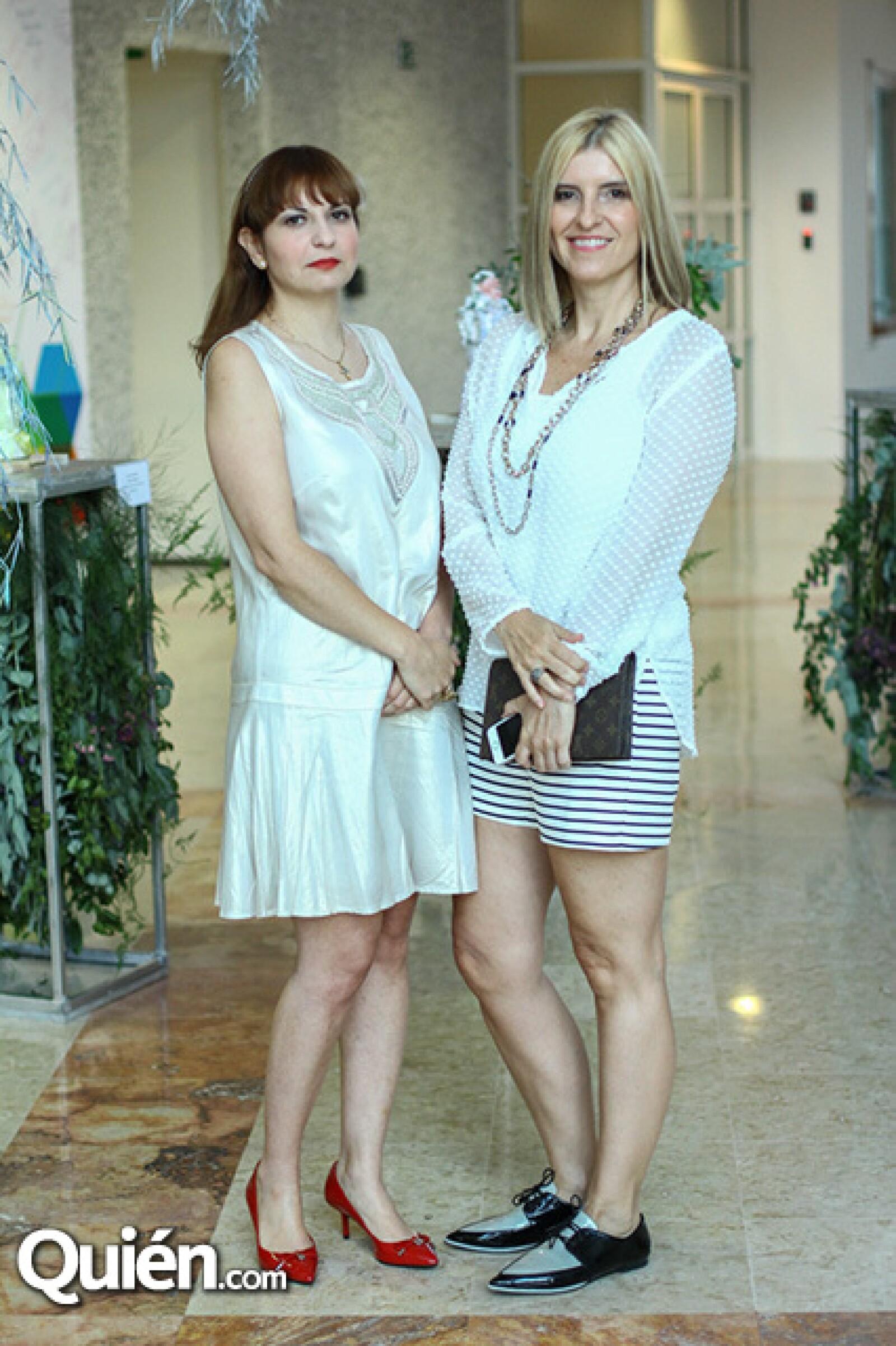 Mara Sepúlveda y Marcela Odrizola.