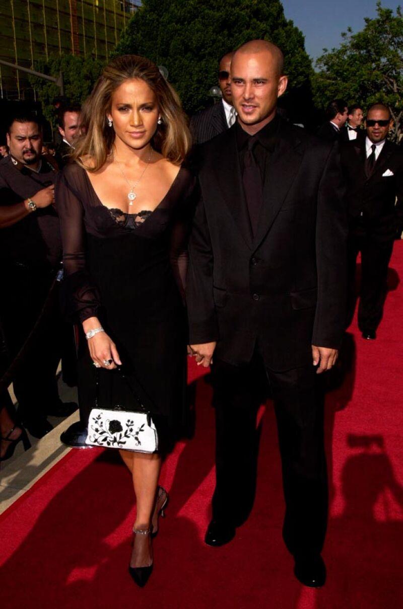 Jennifer también se sumó a las celebridades de matrimonios efímeros.