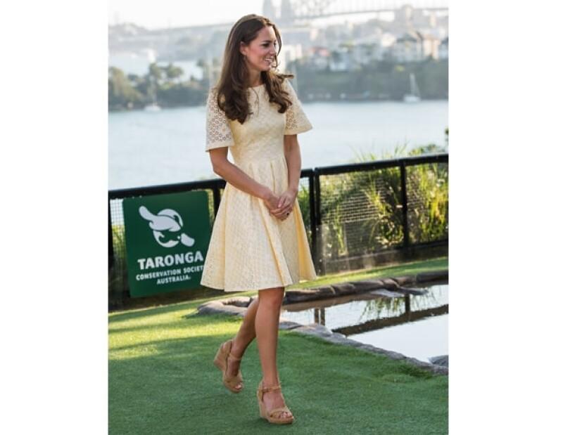 Kate Middleton mantiene un color bronceado utilizando un autobronceador.