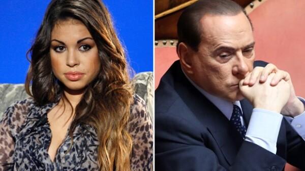 Karima El Mahroug, de 21 años estuvo relacionada sexualmente con el magnate mediático italiano en el pasado cuando aún era menor de edad. Está casada y vive rodeada de lujos en Playa del Carmen.