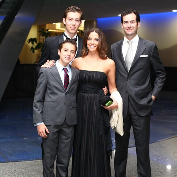 Álvaro Fernández, Jerónimo Fernández, Mariana de Ovando y Jerónimo Fernández