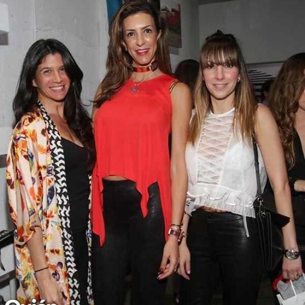 Ana Faría,Celia Daniel y Venus Fabricatore