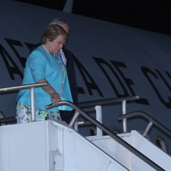 Bachelet en México 2