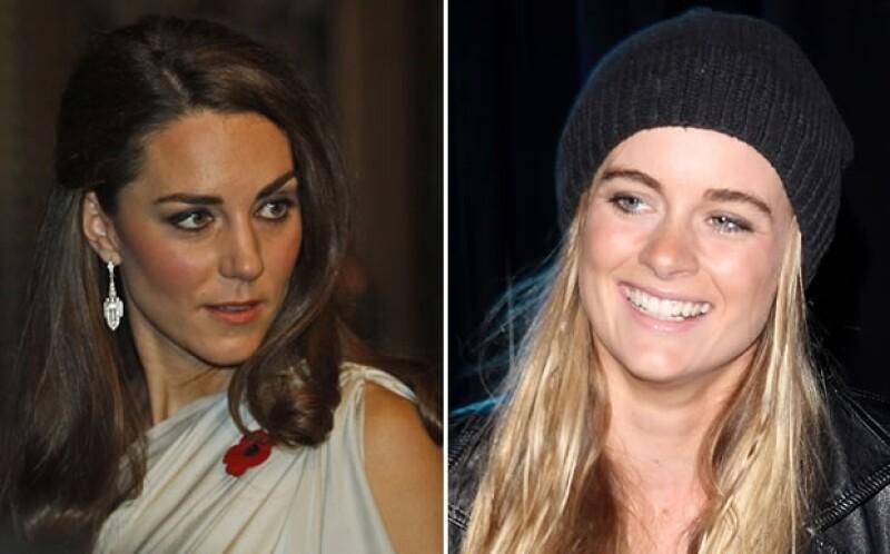 Se dice que Kate Middleton no quiere nada a Cressida Bonas.