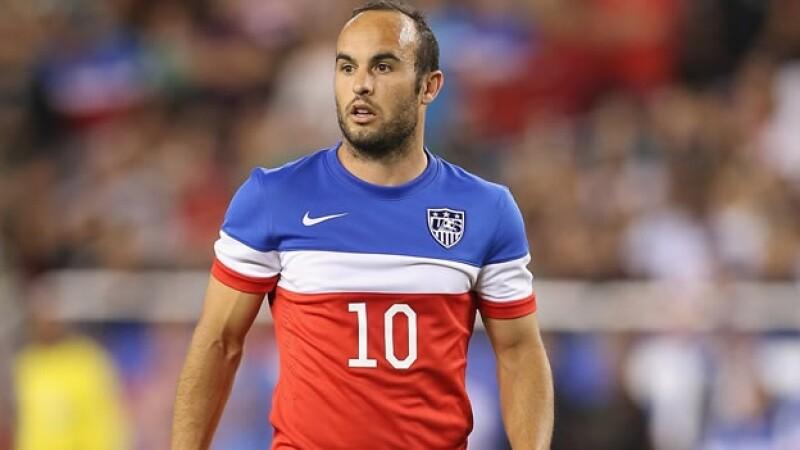 Landon Donovan había sido un referente de la selección estadounidense en los últimos años pero no fue tomado en cuenta para Brasil