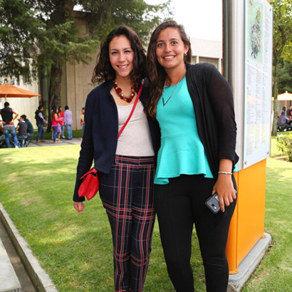 Paola Arciniega y Ana Guajardo