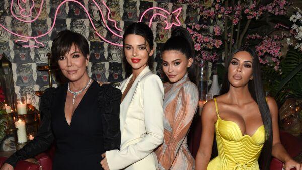 Kris Jenner, Kendall Jenner, Kylie Jenner y Kim Kardashian