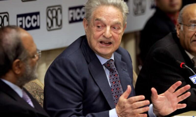 George Soros aseguró que el Fondo de Rescate de la zona euro es inadeudado para solucionar la crisis en esa zona. (Foto: AP)