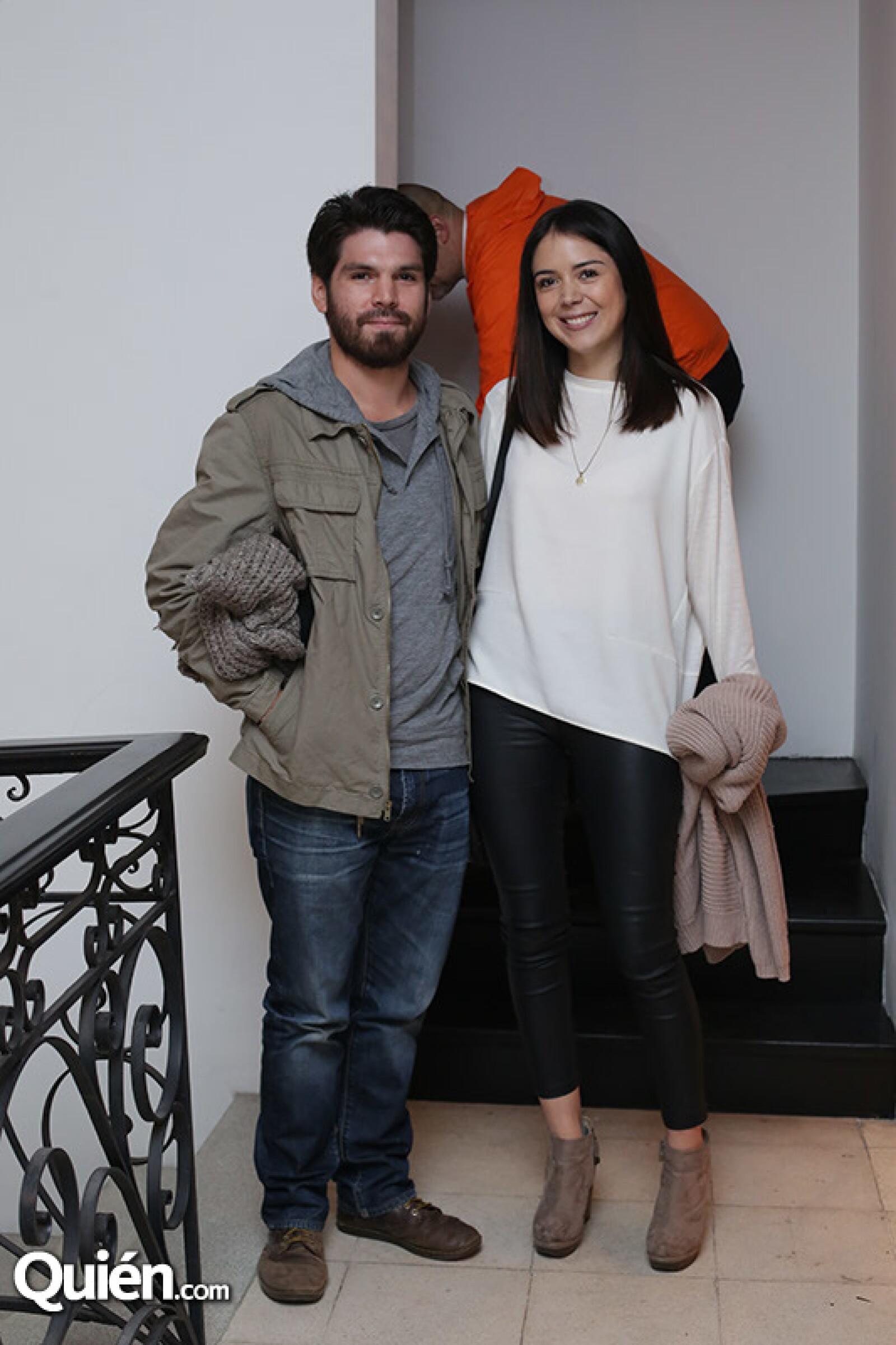 Felipe Luna y Mireille Frangos