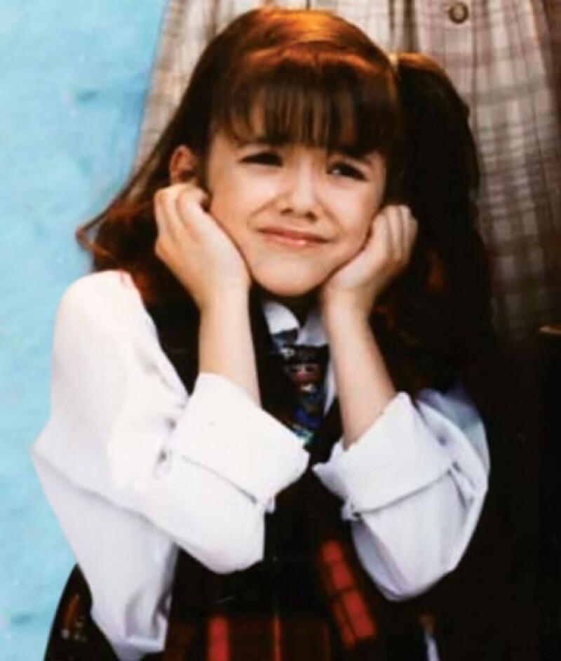Con menos de 10 años, Sherlyn ya había hecho comerciales para después brincar al cine.