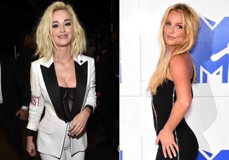 Katy Perry y Britney Spears
