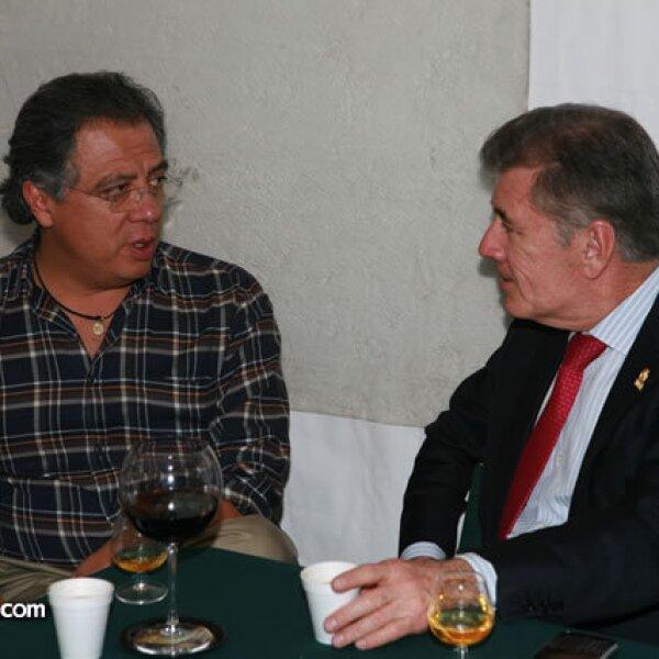 Francisco Alonso y Juan Barrio