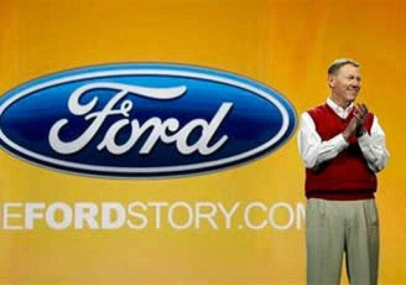 El Ceo de Ford, Alan Mulally, presentó la nueva tecnología en el marco de la CES en Las Vegas. (Foto: AP)