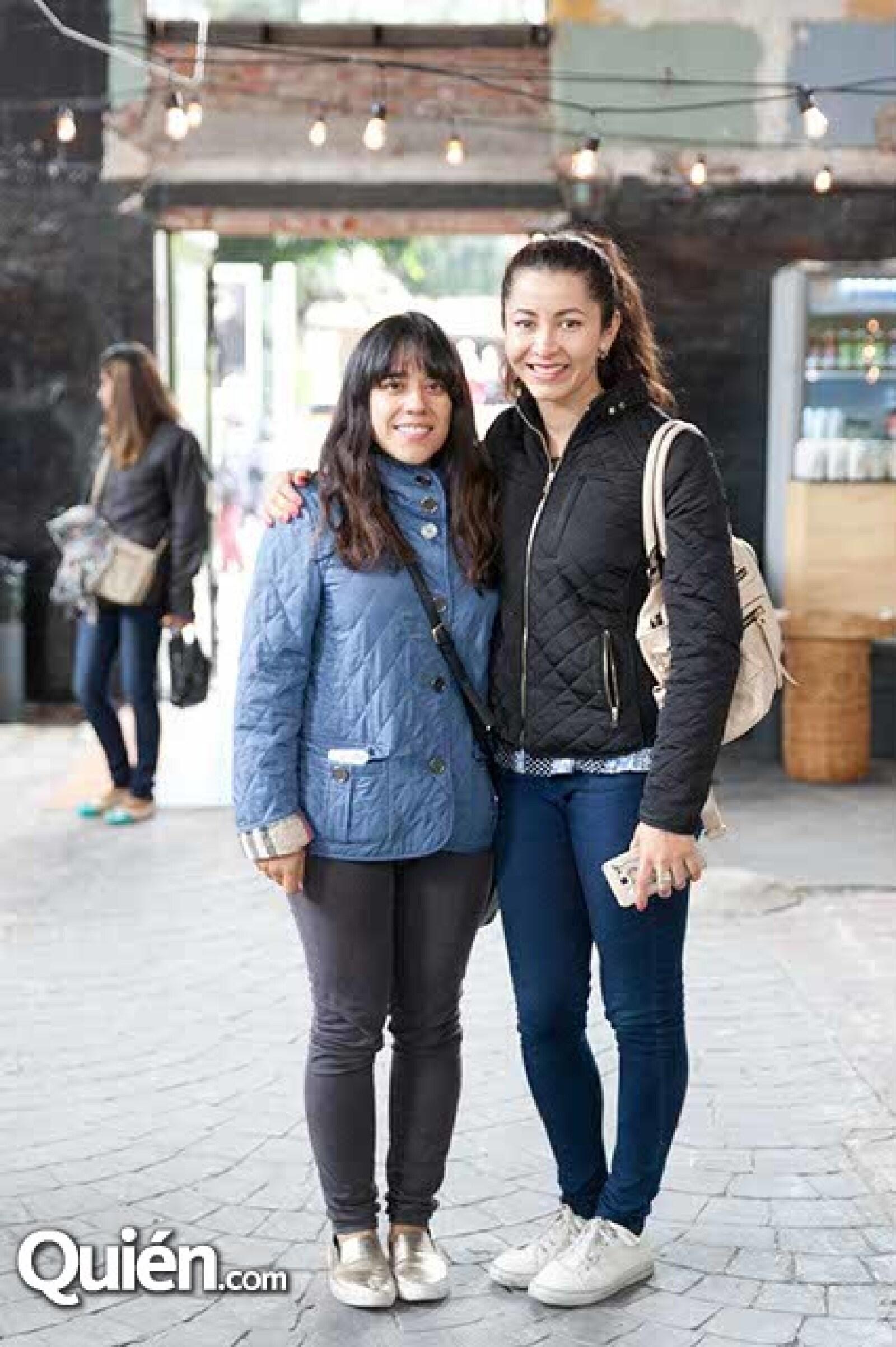 Anabelle Torres y Magda Sorcia