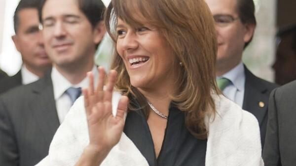 Margarita Zavala la mayoría de las veces usó rebozos en público.