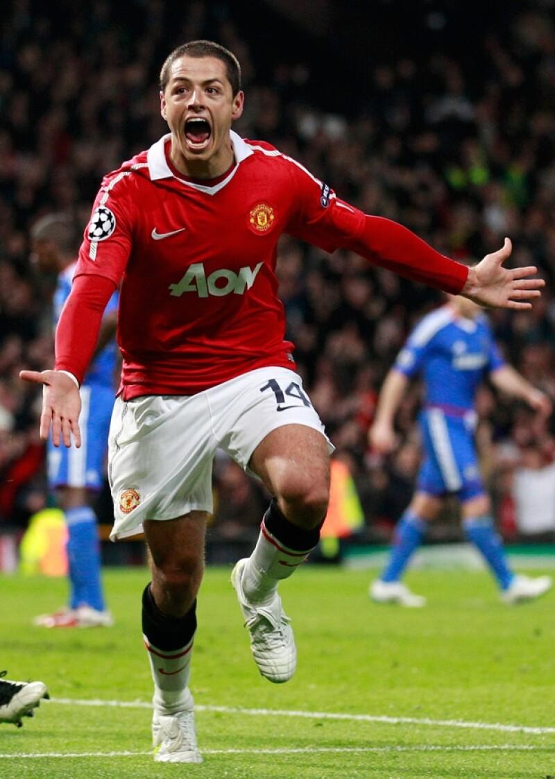 Javier Hernández es un jugador clave para el Manchester United.