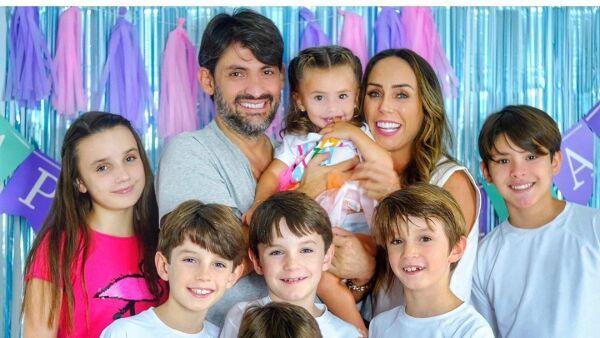 Inés Gómez Mont y su familia