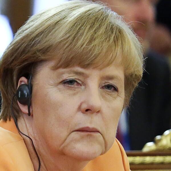 La canciller alemana, Angela Merkel, ha manifestado la oposición de su país para atacar a Siria.