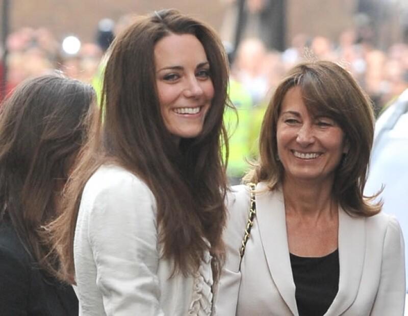 Carole se encargó que sus hijas fueran a buenas escuelas.
