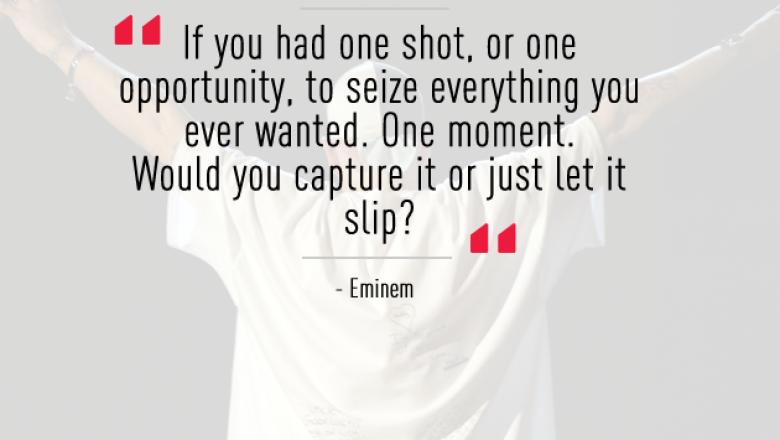 En las palabras de Eminem (Getty Images)