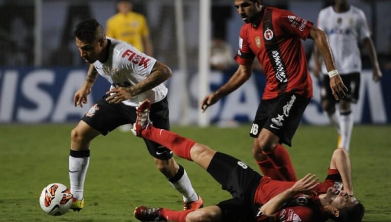 Xolos, Tijuana vs Corinthians, Copa Libertadores