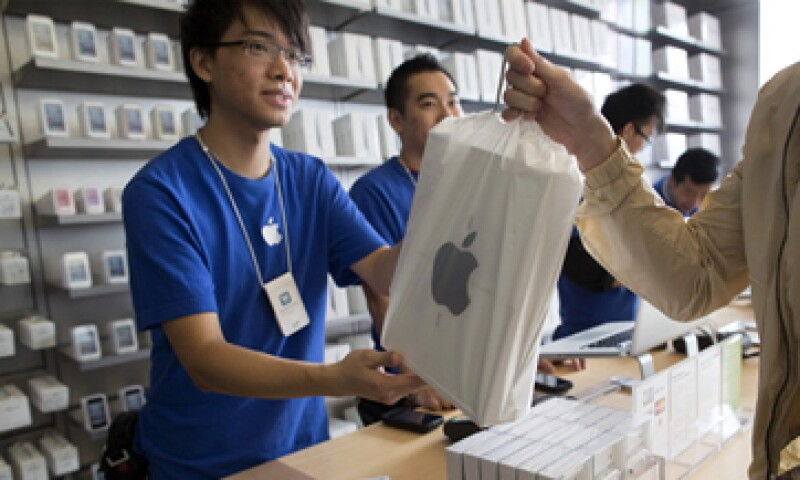La firma está rezagada en las ventas de teléfonos inteligentes en el país asiático. (Foto: Getty Images)