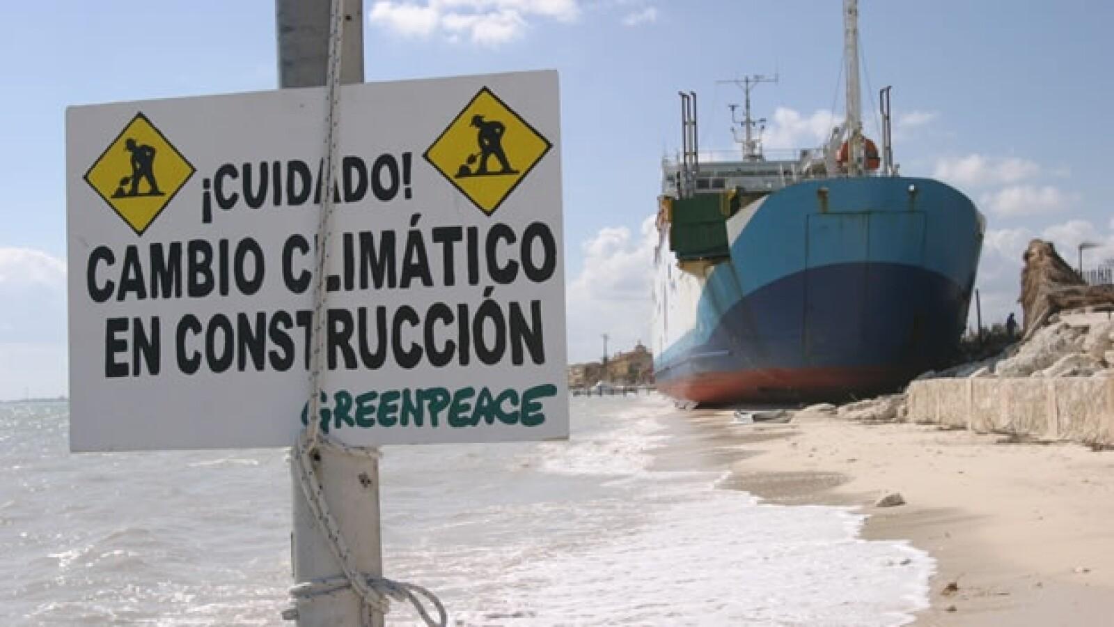 greenpeace cambio climatico mexico