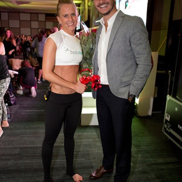 Denise Boufffier y Fernando Fernández