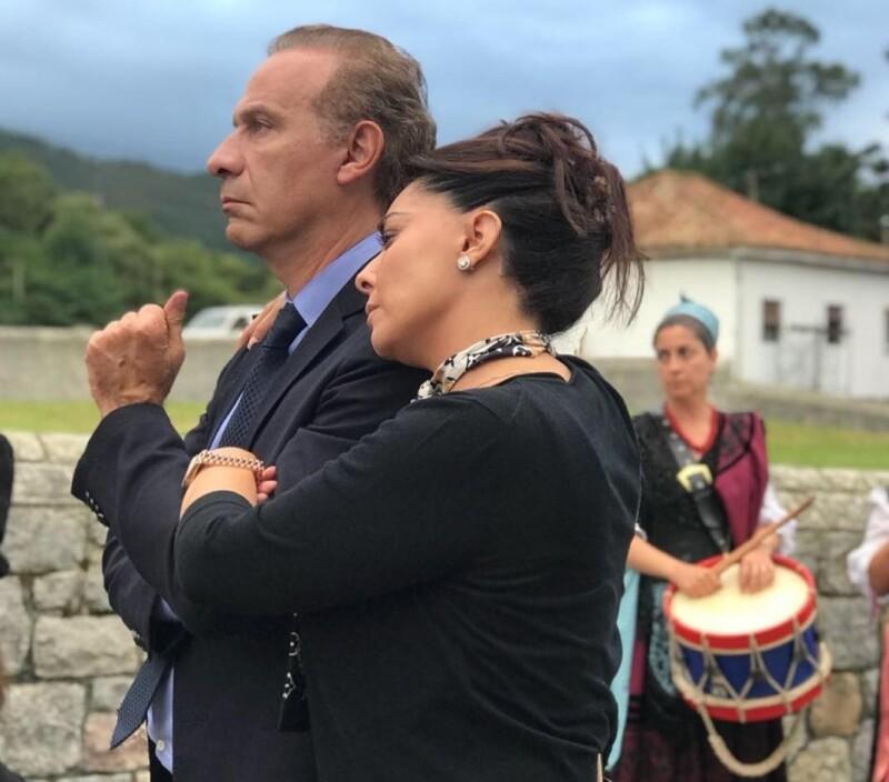 Juan Collado y Yadhira Carrillo
