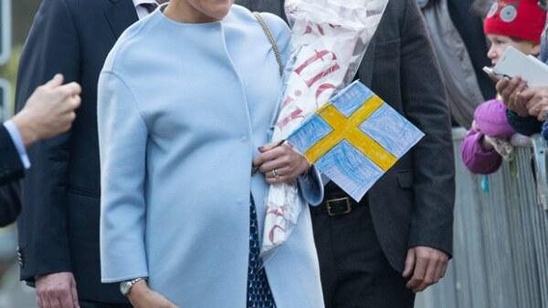 La princesa heredera dio a luz a su segundo hijo, un niño que ocupará el tercer lugar en la línea de sucesión al trono.
