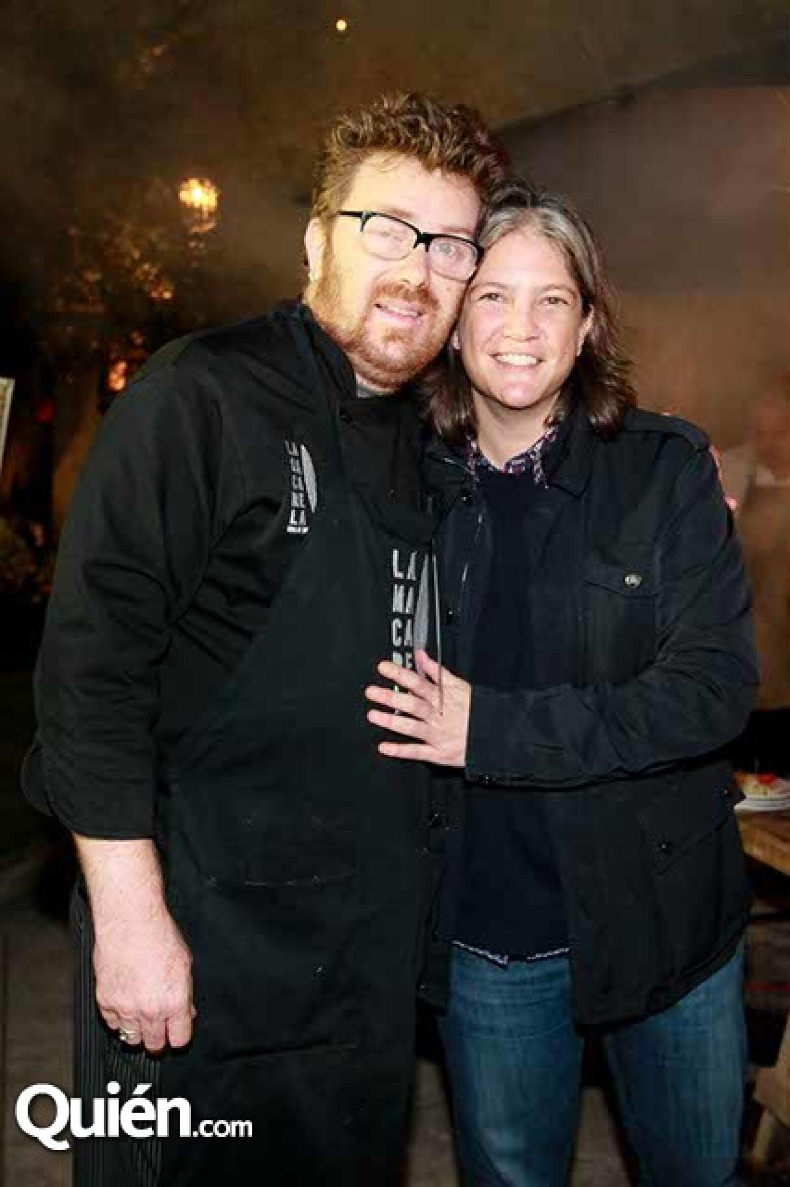 Dany Frydman y Michelle Fastlicht