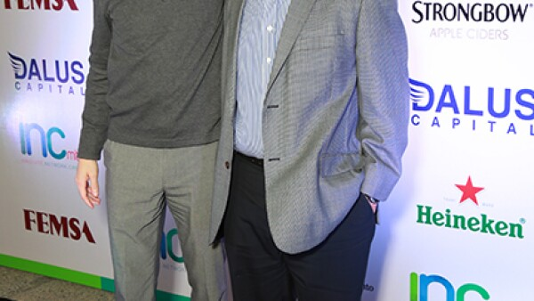 Christian Aguirre y Armando García