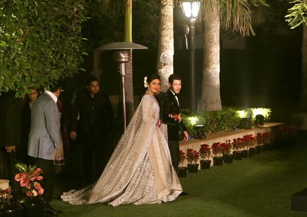 Wedding of Priyanka Chopra and Nick Jonas, New Delhi, India - 04 Dec 2018