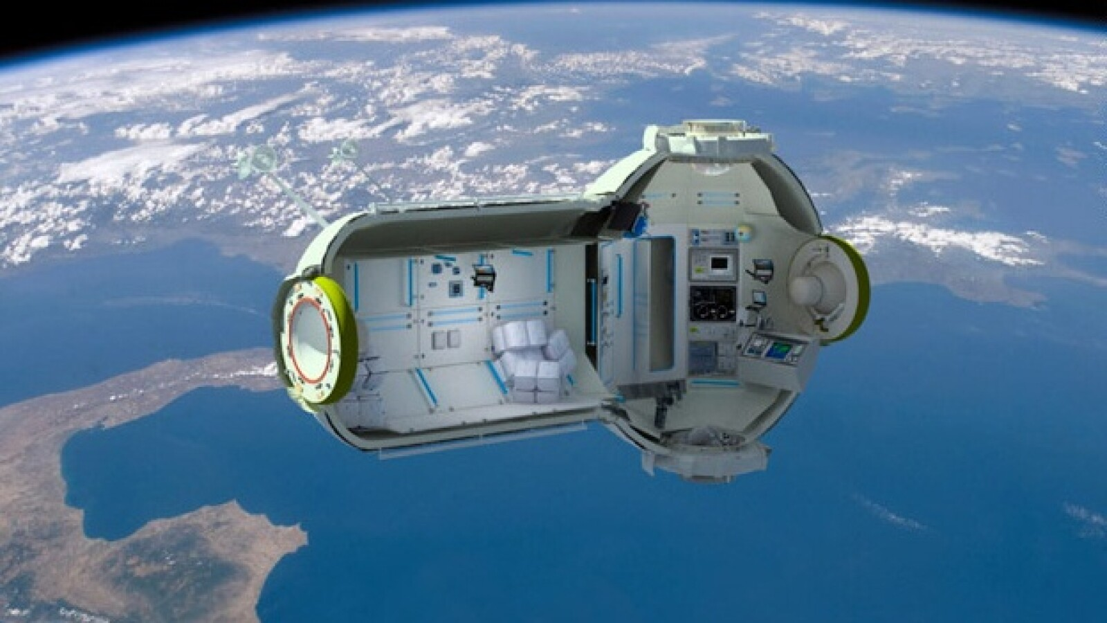 La estación espacial comercial rusa para esparcimiento