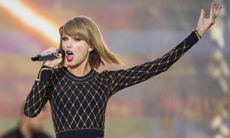 Taylor Swift decidió hace unos días retirar su música de Spotify. (Foto: Reuters )