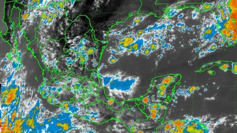 El huracán ?Karina? categoría 1 provocará lluvias en el occidente de México, según el reporte de las autoridades